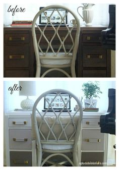 Furniture Makeover: Ombre Drawers