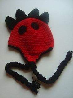 Handmade Crochet Dinosaur Hat  Baby Crochet Hat by SuperCrochetMom