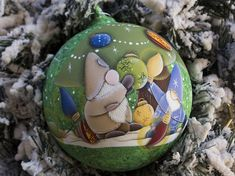 https://www.etsy.com/it/sempreNatale/listing/604159197/Christmas ball, blown glass ball hand painted, country painting, Christmas decoration. #christmasball #christmaspresent, #christmasgift #christmasornaments #handpainted #countrypaintign #christmasdecoration #christmasart #blownglassball  #glasspainted #christmasinjuly