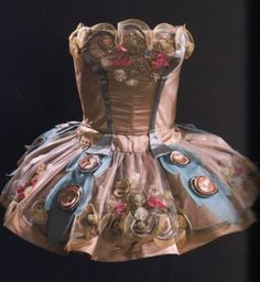 "A Karinska designed ballet tutu - Varvara Jmoudsky, better known as Barbara Karinska or simply Karinska (1886-1983), was costumer of the New York City Ballet, and the first costume designer ever to win the Capezio Dance Award, for costumes ""of visual beauty for the spectator and complete delight for the dancer""."