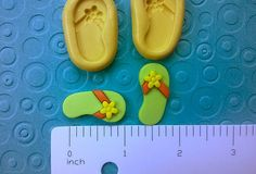 silicone FLIP FLOPS mold flip flop set mold by MainlyMolds