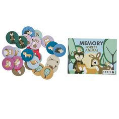 Memory Game - Forrest Animals