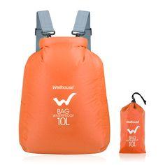 10L Nylon Outdoor Waterproof Storage Bag For Men Lightweight Foldrable Portable Travel Sport Bag Women's Backpack Climbing Bags #Affiliate