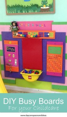 A Collection of Toddler DIY Busy Boards