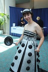 Dr. Who Costume I want to get married in this.  I take the to be Exterminate!! Exterminate!!