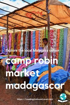An African market day: The local market at Camp Robin, Madagascar - Reading the Book Travel