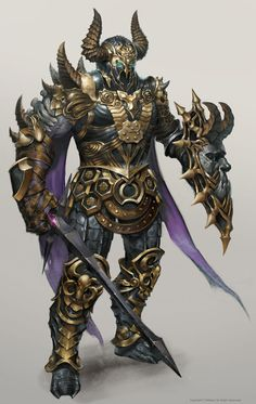 Groug, the champion Fantasy Armor, Medieval Fantasy, Dark Fantasy, Dark Warrior, Angel Warrior, Dragon Knight, Knight Armor, Paladin, Necromancer