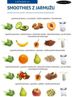 18 new Pins for your bon appétit board - WP Poczta Healthy Diet Tips, Healthy Smoothies, Healthy Drinks, Healthy Life, Healthy Eating, Healthy Food, Smoothie Drinks, Smoothie Recipes, Diet Recipes