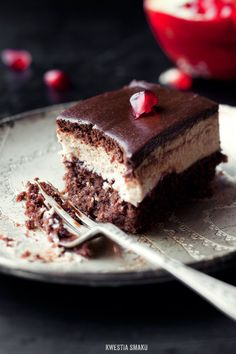 Chocolate & Coffee Mousse Slice