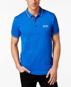Hugo Boss Paddy Pro Open Blue Polo