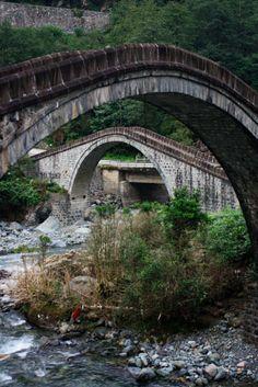 Çifte Köprü Arhavi, Artvin Turkey Türkiye