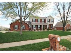 3492 Foxborough Circle, St Charles, MO 63301 — ******STUNNING 2 STORY WITH OVER $150,000 IN UPGRADES IN THE PAST 5 YEARS******Classic brick front curb appeal, covered porch with professional landscaping that surrounds this cool home on the corner.  From door to door 3492 is like new.  Vinyl siding, gutters and full deck.  Predominate hardwood flooring on the main with frieze carpet throughout, family room with fireplace, custom built mantle, built in bookcases and 5 window bay.  The ...