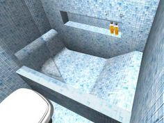 Resultado de imagem para como fazer uma banheira de alvenaria
