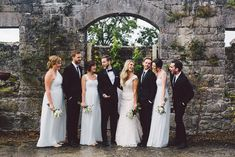 John and Alex's Intimate 30 Guest Wedding in Ireland. See their beautiful photos by Stephanie & Ben from Taylor Clark Photography here....... @intimateweddings.com #realweddings #smallweddings #destinationweddings