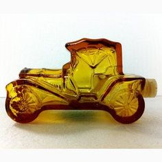 Avon Cologne Amber Car Bottle