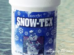 Making pretend snowballs. snow texUsing the spreader…spread the Snow Tex all over each styrofoam ball until it is covered well. Make sure you make it thick in some places and thin in others…to make it more realistic. Winter Porch Decorations, White Christmas Tree Decorations, Christmas Ideas, Holiday Ideas, Christmas Ornaments, Holiday Crafts, Fun Crafts, Holiday Decor, Diy For Kids