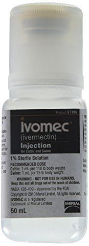 Frontline MERIAL 000683 Ivomec Parasiticide Injection For Swine & Cattle 50ml