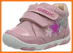 new arrival 99d57 19c55 Geox B New Balu Girl 3 Sneaker (Infant Toddler), Pink Multicolor