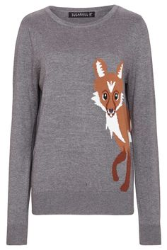 Fox Knit Sweater – Jimmy Hooves
