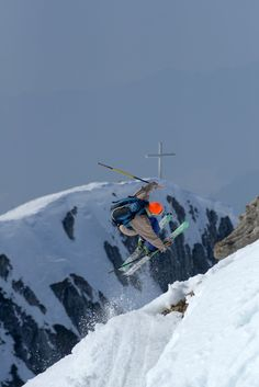 The Cross of l'Aiguille