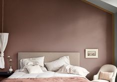 A room in cashmere brown and amber honey Decor, Room, Home, Decor Design, Living Room Bedroom, New Homes, House Interior, Interior Design, Master Bedrooms Decor