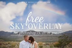 Free Sky Overlay for Photoshop and Elements | www.morganburks.com