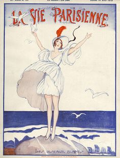 Covers Drawing - La Vie Parisienne  1919 1910s France by The Advertising Archives