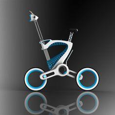 MORI, le vélo pliant urbain imprimé en 3D