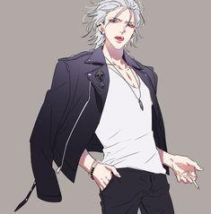 Samatoki Aohitsugi 碧棺左馬刻 The Dirty Dawg Hypnosis Mic ヒプノシスマイク Boys Anime, Anime W, Cute Anime Guys, Manga Boy, Handsome Anime, Handsome Boys, Character Inspiration, Character Art, Rap Battle
