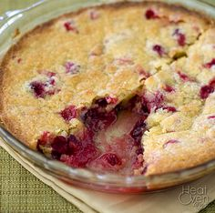 Nantucket Cranberry Pie - Made this for Thanksgiving dinner. It was the only dessert that there was none left of.