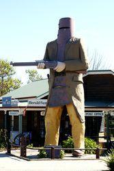 The Big Ned Kelly - Glenrowan - Victoria Wildlife Tourism, Ned Kelly, Silhouettes, Victoria, Tours, Australia, Big, Places, People