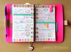 She's Eclectic: My week in my Filofax #22
