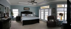 Customized Master Bedroom