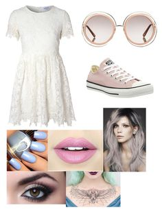 """""""Untitled #30"""" by bandsdestroyamylife on Polyvore featuring Chloé, Glamorous, Converse and Fiebiger"""