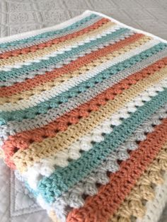 Beautiful crochet baby blanket quick and easy ribbed baby blanket crochet pattern video tutorial page 2 of 2 Crochet Afghans, Baby Blanket Crochet, Easy Crochet, Crochet Stitches, Knit Crochet, Blanket Yarn, Blankets, Afghan Crochet Patterns, Beautiful Crochet