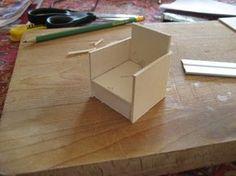 Construire un fauteuil miniature mais pour mon salon...
