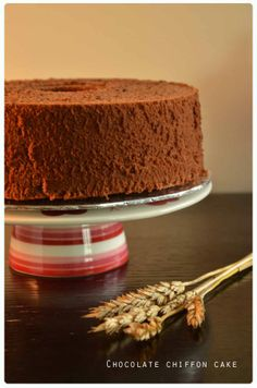 Great tips on how to make a fab chocolate chiffon cake - I will be turning mine into a layered chocolate mousse cake! *fingers crossed*