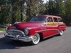 1953 Buick Super Series 50 Woody Estate Wagon