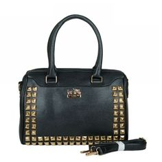 Modern Design Coach Legacy Legacy Haley In Stud Medium Black Satchels BPC Are Waiting For You To Come And Visit Here!