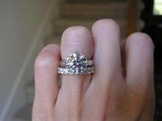 PreCiouSJeWeL920's GOG 3ct 2.5 size ering with eternity band from WF with 10 pt stones