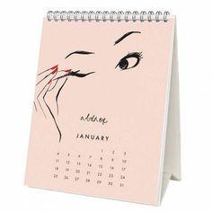Gift idea for the beauty lover: Garance Dore desk calendar