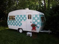 Old Campers, Little Campers, Retro Campers, Camper Trailers, Vintage Campers, Retro Trailers, Airstream Campers, Rv Bus, Rv Trailer
