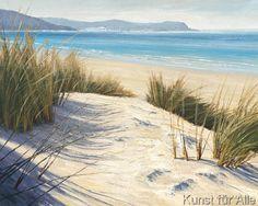 Caroline Atkinson - Afternoon Dunes (50,0 x 40,0 cm)