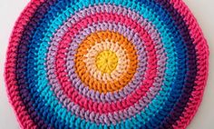 crochet circle mandala round ten