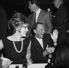 Frank Sinatra and Jill St. John