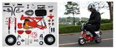 Moto del día: Ko-Zaru Z31 A Honda Monkey, Kos, Baby Strollers, Children, Drum Brake, Earth's Rotation, Baby Prams, Young Children, Boys