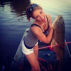 girls fishing