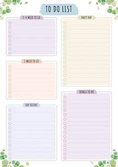Study Planner, Project Planner, Planner Pages, Weekly Planner Template, Daily Planner Printable, Printable Party, School Planner, Teacher Planner, Business Planner