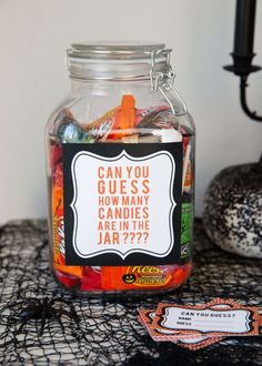 5 EASY Kids Halloween Games including ghost bowling, candy guess game, pumpkin toss, punch a box and pin the spider on the web. These games are perfect for any Halloween party with kids! Since my daughter has a birthday in October, she decided she wanted to go with a Halloween theme this year. We had fun ...