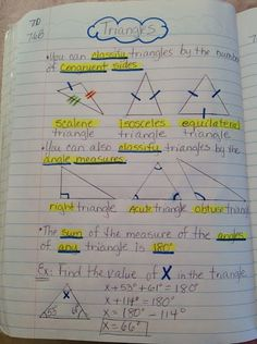 interactive math notebooks for third grade | 7th Grade Math Interactive Notebook - Maria ... | High School Math